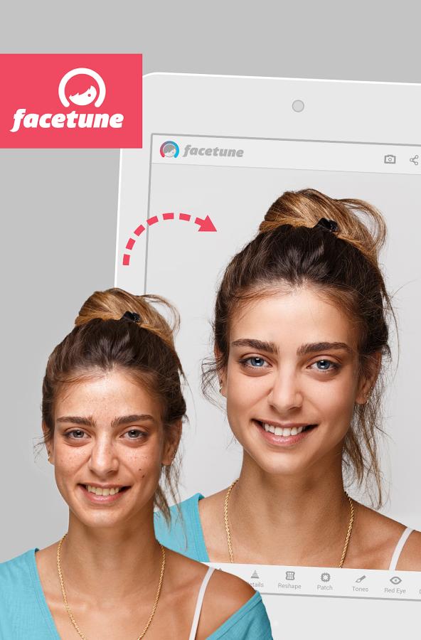 Facetune, una aplicación para salir perfectos en los selfies