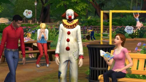 El payaso trágico, novedad de Los Sims 4