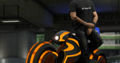 GTA V online y la llegada de las motos de TRON
