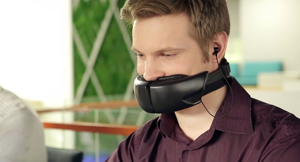 Hushme, un llamativo gadget que silencia las conversaciones por teléfono