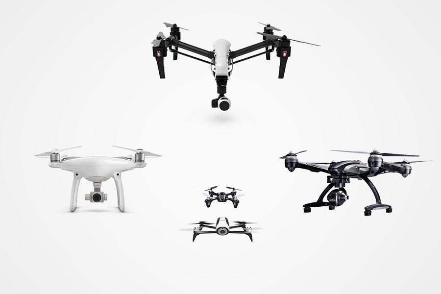 Principales usos de un dron